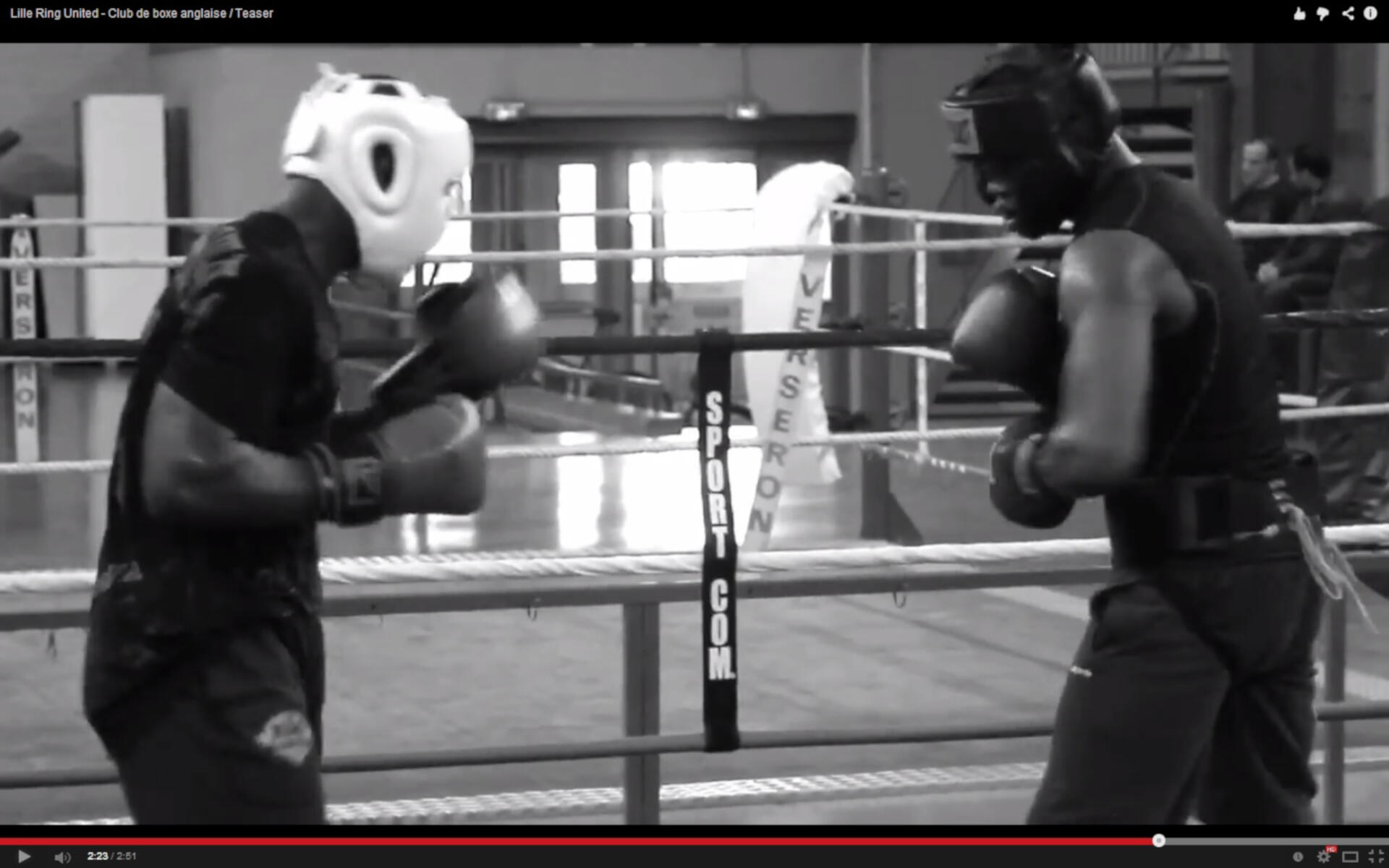 Lille Ring United – Club de boxe anglaise / Teaser