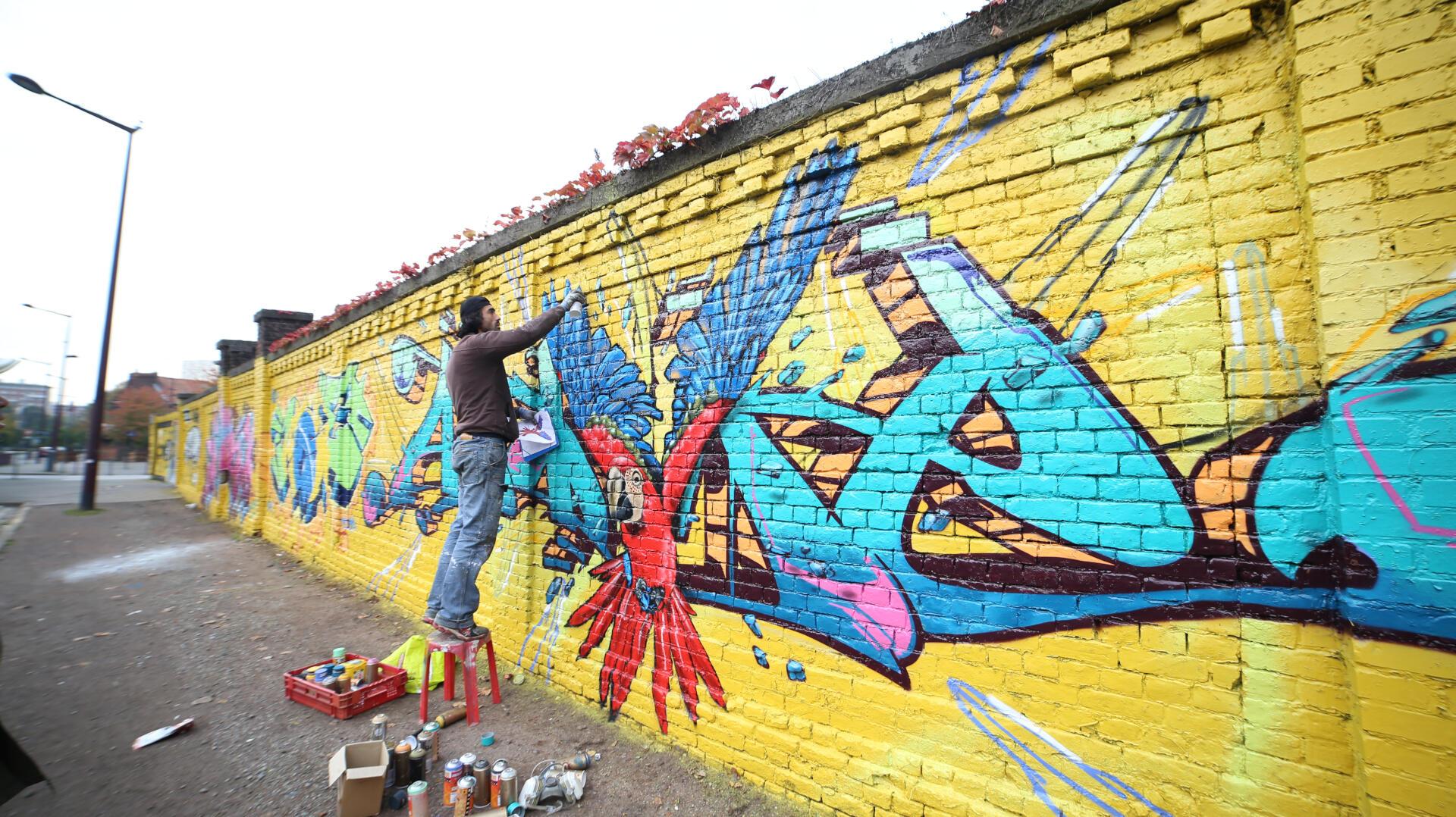 A BAZE D'ATOME #GRAFFITI #BDM 2015